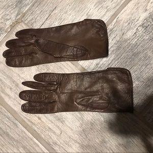 Accessories - Vintage fine leather gloves